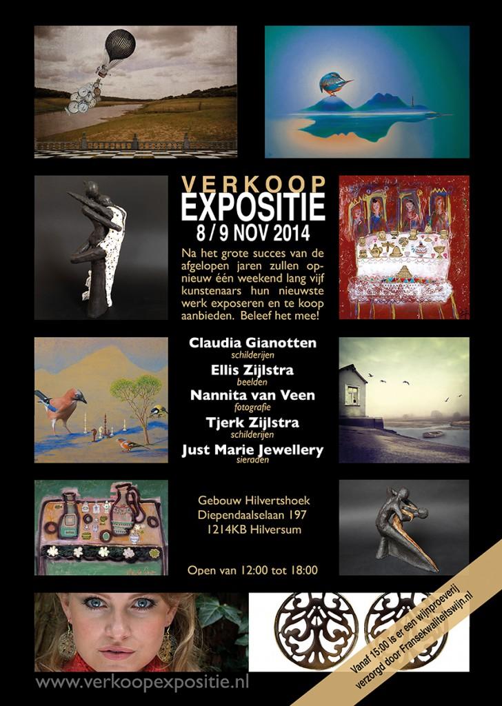Uitnodiging expositie hilversum