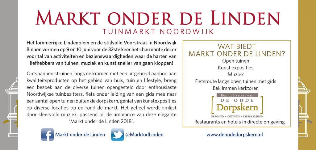 Tuin exposities aan de lommerrijke Lindenplein en stijlvolle Voorstraat in Noordwijk